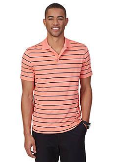 Nautica Striped Tech Jersey Polo Shirt