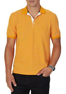 Nautica Classic Fit Striped Polo Shirt