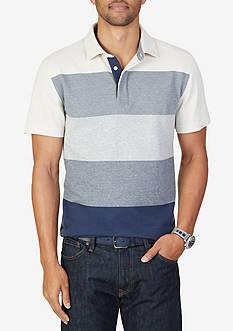 Nautica Slim Fit Gradient Stripe Polo Shirt