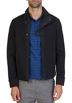 Nautica Full-Zip Flap Jacket