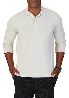Nautica Slim Fit Long Sleeve Polo Shirt