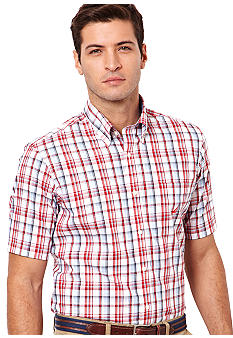 Nautica Big & Tall Plaid Woven Shirt