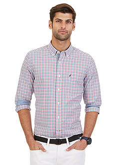 Nautica Big & Tall Tattersall Oxford Shirt
