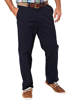 Nautica Slim Fit Beacon Flat Front Pants