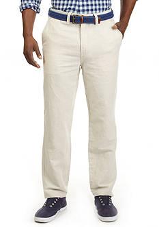 Nautica Classic Fit Flat Front Pants