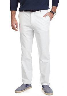 Nautica Slim Fit Seersucker Flat Front Pant