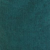Mens Flat Front Pants: Dark Pine Nautica Corduroy Spinnaker Five-Pocket Pants