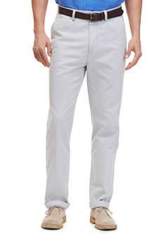 Nautica Classic Fit Flat Front Deck Pants
