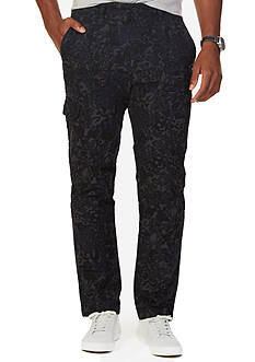 Nautica Slim Fit Camo Cargo Pants