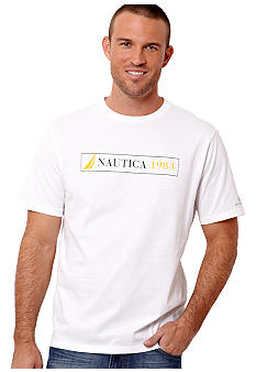 Nautica Big & Tall 30th Anniversary Anchor Graphic Tee