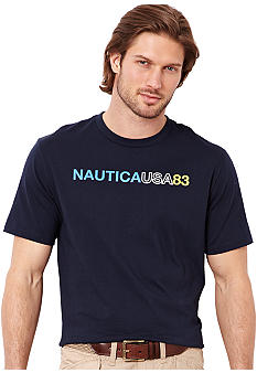 Nautica Big & Tall Nautica USA '83 Tee