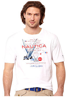 Nautica Big & Tall Newport Sailing Tee