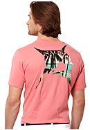 Nautica Big & Tall Marlin Palms Tee