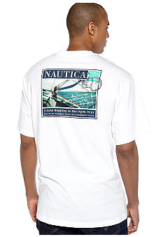 Nautica Big & Tall Island Hoping Post Tee