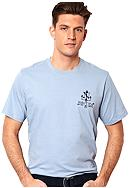 Nautica Big & Tall Anchor Logo Tee