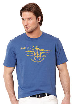 Nautica Big & Tall Atlantic Shoreman Tee