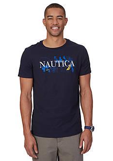 Nautica Big & Tall Signature Graphic Tee