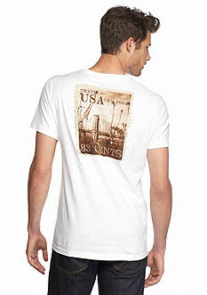 Nautica Big & Tall Postcard Graphic Tee