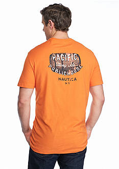 Nautica Big & Tall Pacific Public House Graphic Tee
