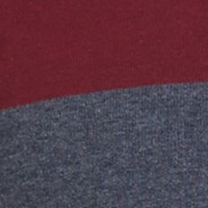 Mens Designer Sweaters: Winds Wine Nautica Colorblock Quarter Zip Sweater