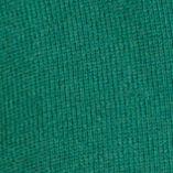 Mens Designer Sweaters: Hunter Green Nautica Solid Quarter-Zip Sweater