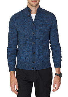 Nautica Cable-Knit Cardigan