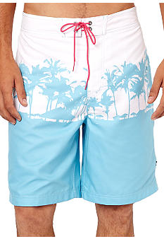 Nautica Horizon Palm Tree Board Shorts