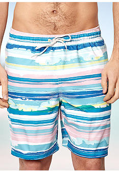 Nautica Painted Stripe Swim