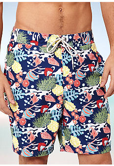 Nautica Sealife Print Trunks