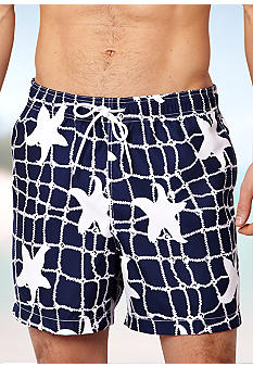 Nautica Netted Starfish Swim Trunks