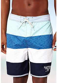 Nautica Block Stripe Swim