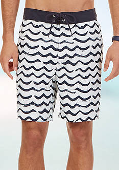 Nautica Brushed Waves Board Shorts