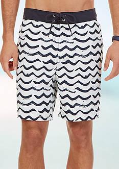 Nautica Brushed Waves Board Shorts