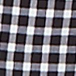 Men: Nautica Swimwear: True Black Nautica Quick Dry Gingham Swim Trunks