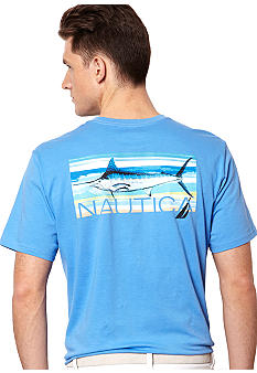 Nautica Paint Marlin Tee