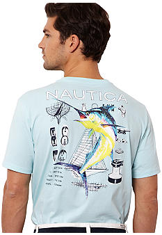 Nautica Marlin Diagram Tee