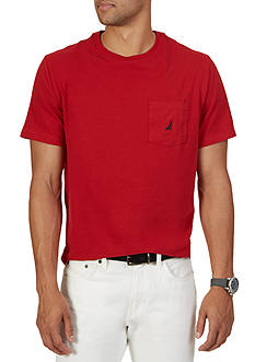 Nautica Short Sleeve Anchor Pocket T-Shirt