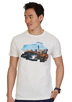 Nautica Skyline Graphic Tee