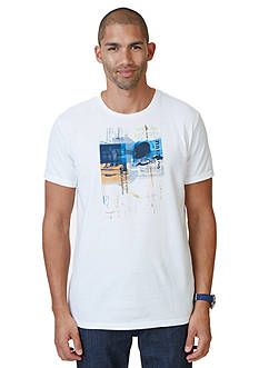 Nautica Collage Graphic Tee