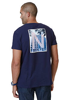 Nautica Building Graphic Tee