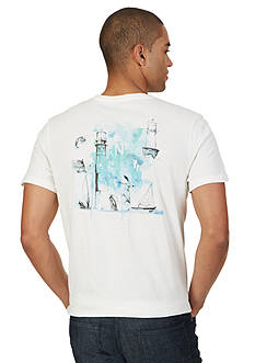 Nautica Lighthouse Graphic Tee