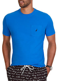 Nautica Classic Fit Pocket T-Shirt