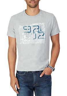 Nautica 92 Map Graphic T-Shirt