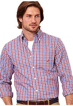 Nautica Multi Small Plaid Shirt