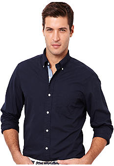 Nautica Vineyard Poplin Solid Shirt