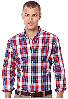 Nautica Multi Plaid Shirt