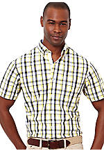 Nautica Medium Plaid Shirt
