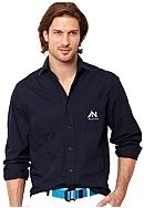 Nautica Pieced Solid Shirt
