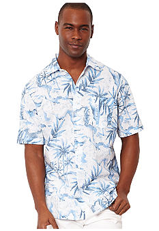 Nautica Palm Print Shirt