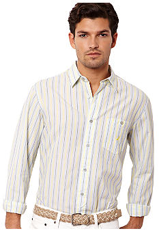Nautica Polplin Stripes Shirt